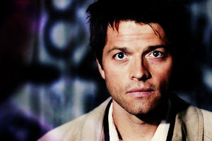"[i]""Cutest moment of Castiel is your idea!"" [/i] tuta dog eyes. <3"