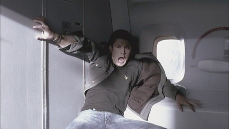 """Dean screaming on a plane"""