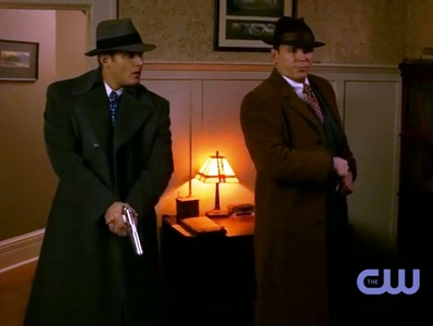 Dean and Eliot Ness together... ;)
