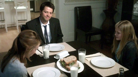 """""""Jimmy Novak's Family at the diner table"""""""