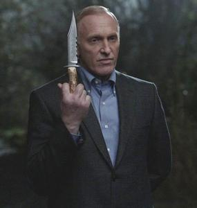 """""""Alistair with Ruby's knife"""""""