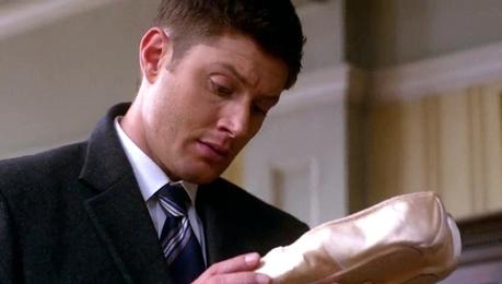 Dean attracted sa pamamagitan ng ballet shoes... (LOL... ;D)
