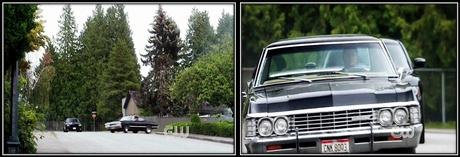 Dean racing Sam in his Impala...