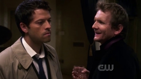 castiel talking to balthazar <br />