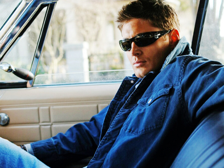 Dean wearing shades...