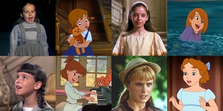I've always thought some of the young heroines reminded me of the girls from the Sound of Music.