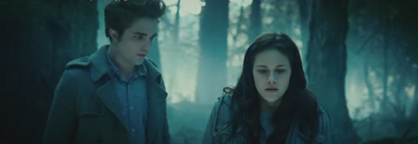 twilight bella and edward in the house