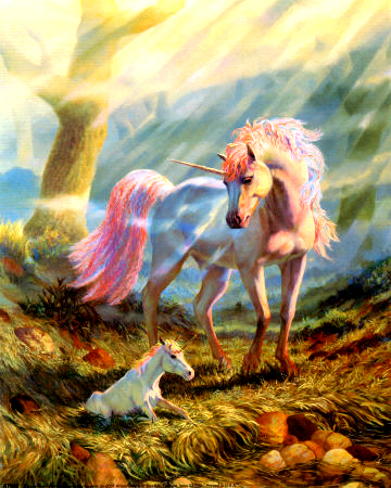 Mine :) Unicorn with baby unicorn :D <3