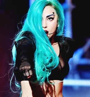 प्रिय Wig of 2011 <i>Long टील, टीला, गहरा हरिताभ नीला blonde</i>