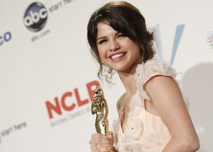 Sel at awards show