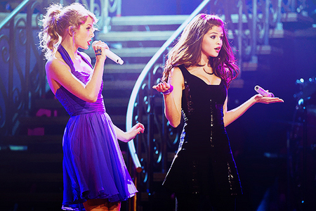 11. Selena and taylor swift