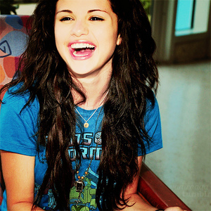 18.Selena Laughing