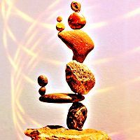 Hard [Rocks are hard and rock balancing is hard work! These rocks were balanced by [url=http://compas