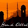 "6) Architecture - Muslim minerets in Turkey with ""Hamd Allah,"" Arabic phonetic translation for ""Prais"