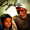 "10) Male - Icon with grandfather and grandson, with ""Ayla"" a rough phonetic Arabic translation of the"