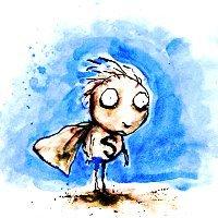 10. Tim Burton {Stain Boy}