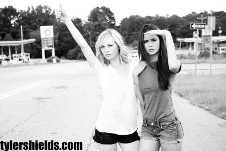 Nina Dobrev and Candice Accola!!!