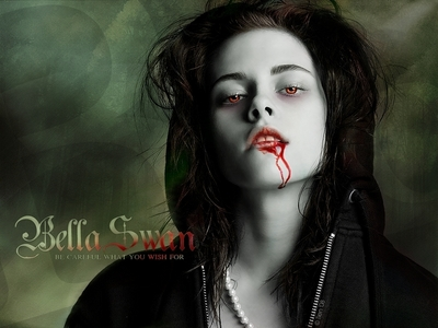 hot <br /> <br /> bella as a vampire