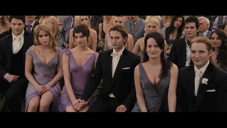 HOT<br /> <br /> The Cullens at the wedding
