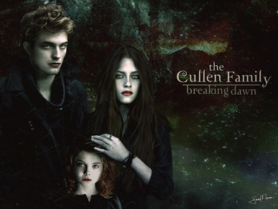 Not!   The Cute Family.. Edward, Bella An Renesmee♥