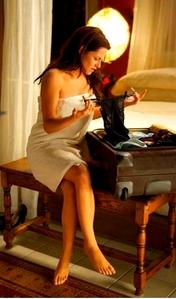 Hot  Bella choosing lingerie for the honeymoon??!!