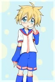 Here r mine Vocaloid Name: Akira Kagamine Gender:Male Age:Whatever age the Kagamine twins are Number: