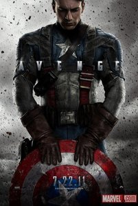 Here's my favorite movie pic. It's Captain America ;)