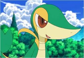 Day 03 (Favourite starter Pokemon): Snivy<3