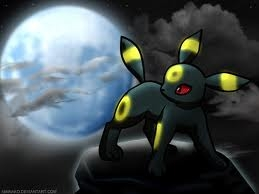 দিন 04 (favorate eevee evelotion): Umbreon