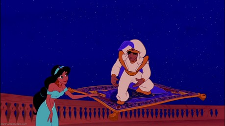 Here it is. Find a picture of Tiana and Naveen.