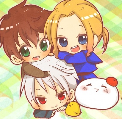 Chibi Bad Touch Trio. X3