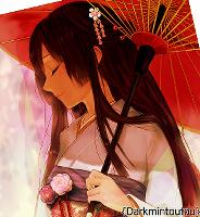 Mine, I love Japanese Umbrellas <3 ^^
