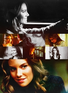 день Five: Избранное female character on a male-driven Показать Bela Talbot