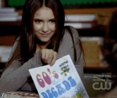 día One: favorito! lead female character Elena Gilbert from Vampire Diaries One of my favorito! female