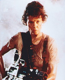 день Twelve: Избранное female character in a movie Ellen Ripley