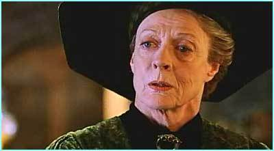 giorno Fourteen: preferito older female character McGonagall