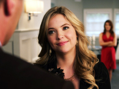 Day Nine: [u]Favorite female character in a drama show[/u] Hanna Marin from Pretty Little Liars