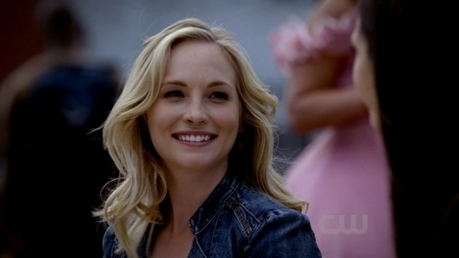 giorno Ten: [u]Favorite female character in a scifi/supernatural show[/u] Caroline Forbes <3