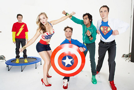 Cool :D দিন 01 - পছন্দ sitcom The Big Bang Theory