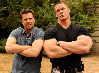 Day 02 - Favorite guest star for an episode  John Cena on <i>Psych</i> (S04E10 &#34;You Can&#39;t Handle This
