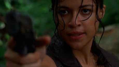 dia 03 - favorito guest estrela for a season MICHELLE RODRIGUEZ on <i>Lost</i> (Season 2)