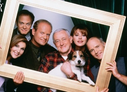 Oh awesome! I'm totally joining! siku 01 - inayopendelewa sitcom Frasier!! It will always be my favorite.