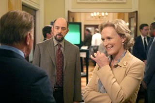 dia 02 - favorito guest estrela for an episode Glenn Close on one of my favourite episodes of The West