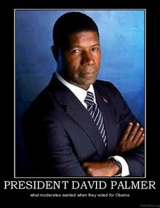 dia 09 - favorito President DAVID PALMER <i>(24)</i> The picture says: What moderators wanted when