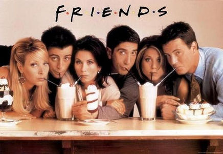 dia 01 - favorito sitcom friends