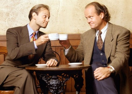 দিন 10 - পছন্দ siblings Frasier & Niles কপিকল from Frasier But not far behind are Randy & Earl H