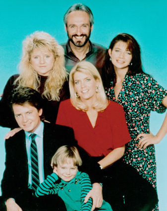 দিন 01- Favourite sitcom: Family Ties