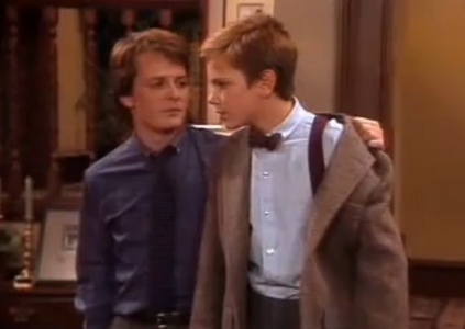 দিন 02- Favourite guest তারকা for an episode: River Phoenix in Family Ties- episode 4x06 'The Tutor'