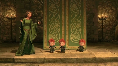 Hm, this is Disney Females and they are boys. But here you go. There's Queen Elinor in this picture.
