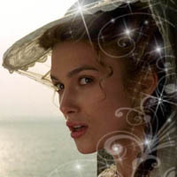 Elizabeth Swann. Now give me a picture of Mia Thermopolis as a princess.